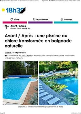 Biotop media i natural pools and living pools - Transformer une piscine ...