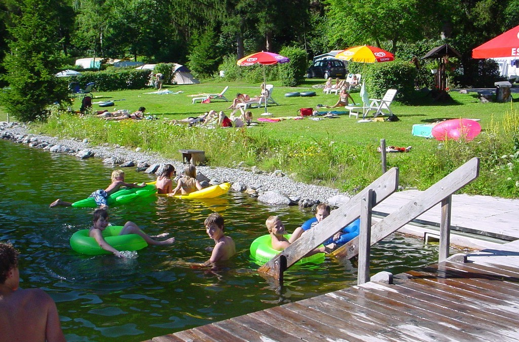 natural pool in Austria for dutch vacationers