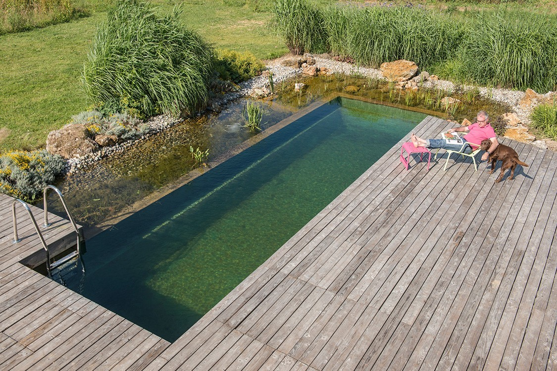 natural pool in France as attraction