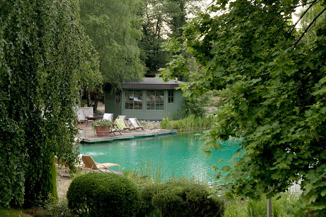 natural pool and wellness in germany