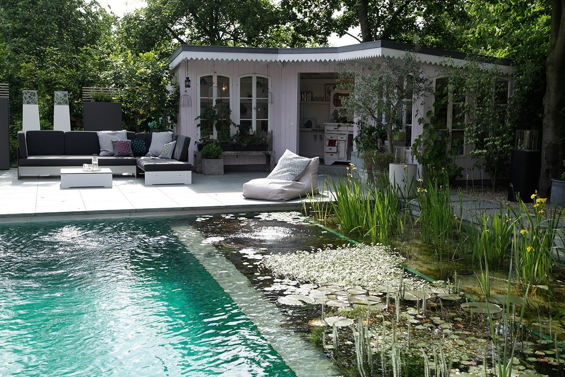 Biotop Natural Pool With A Scandinavian Touch