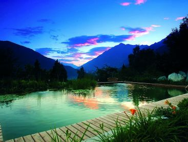 natural pool in south tyrol hotel as unique selling proposition