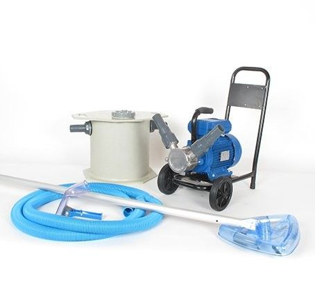 With the sludge suction cleaner from Biotop, every maintenance work can be completed easily and rapidly