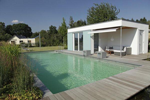 Biotop case studies i natural pools and living pools - Pool quadratisch ...